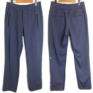 Lululemon | Mens Heathered Blue Sweatpant Joggers